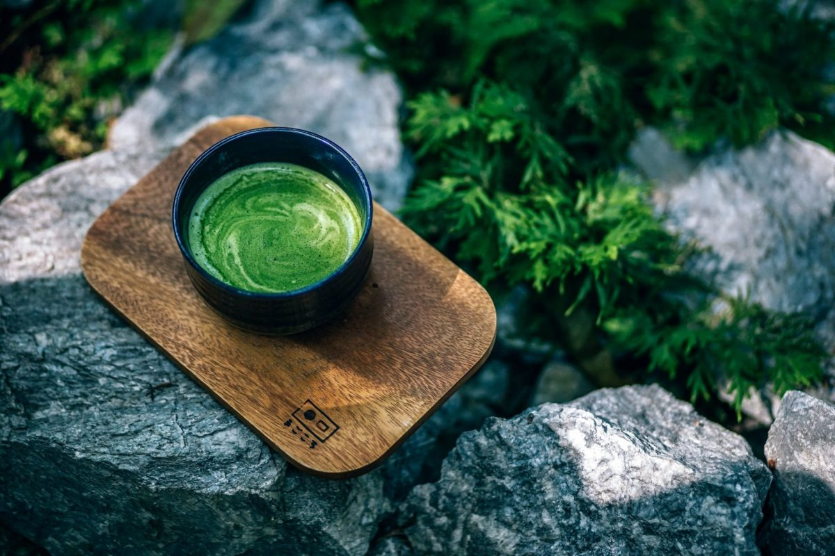 Japanischer Matcha Tee.